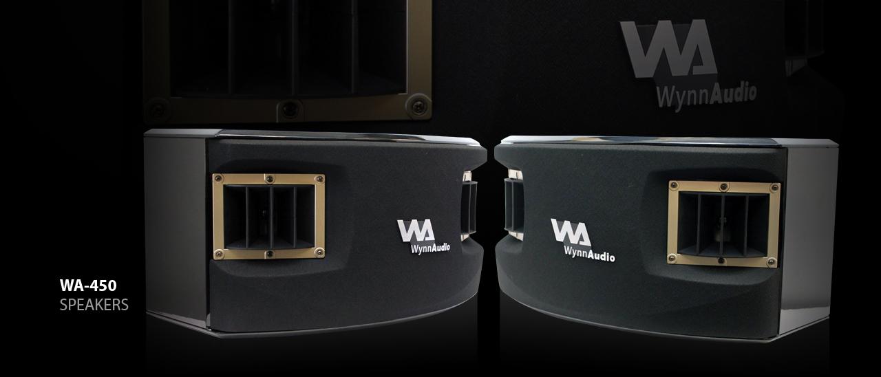 WA 450 Speakers